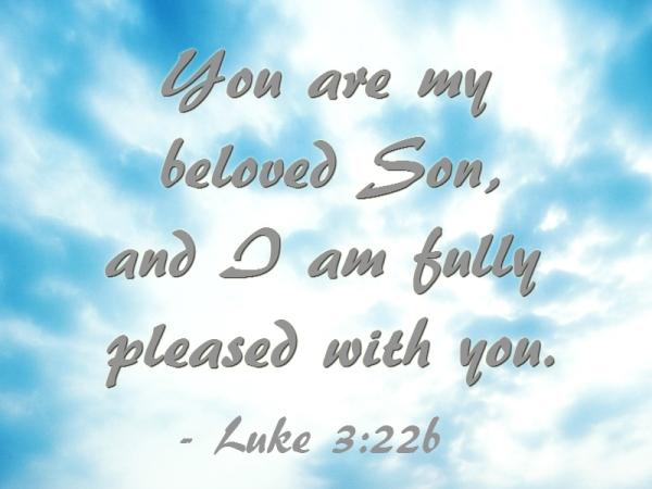 Luke 3:22b