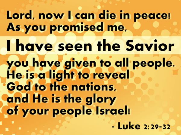 Luke 2:29-32