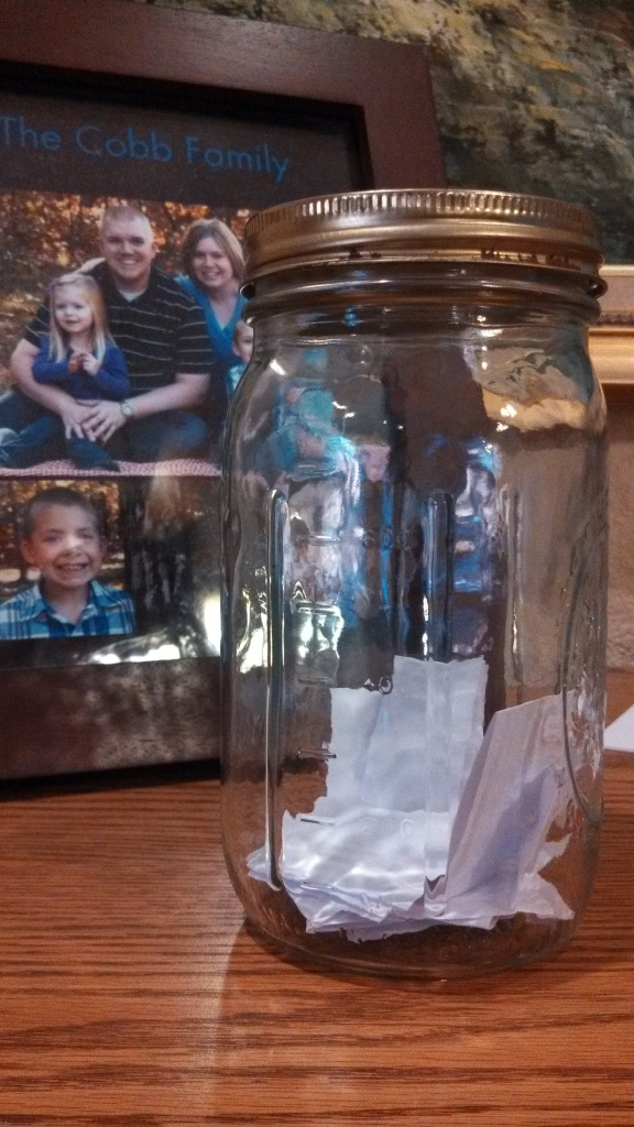Our Family Activity Jar