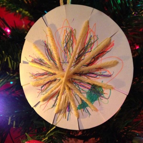 Lauren's star ornament