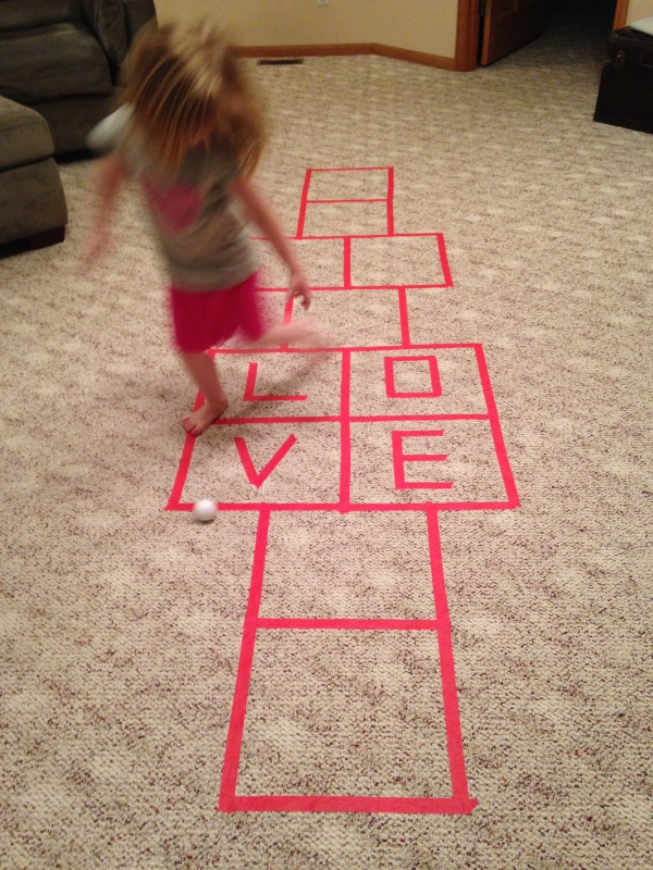 LOVE Hopscotch