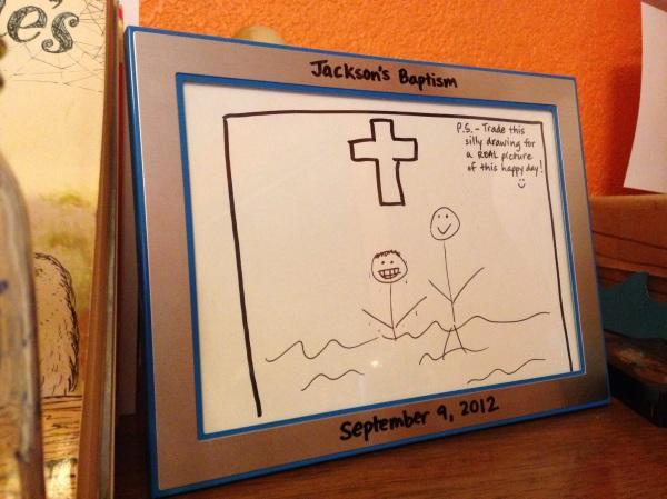 """Jackson's baptism """"photo"""""""