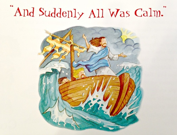 Illustration from Bedtime Bible Stories, pg. 322
