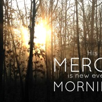 Morning mercies