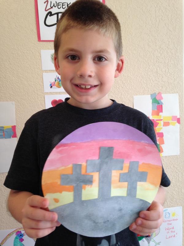 Jackson and three crosses