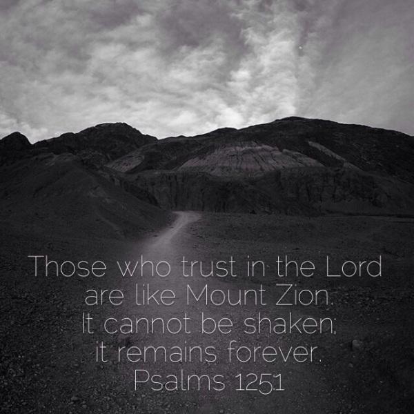 not be shaken