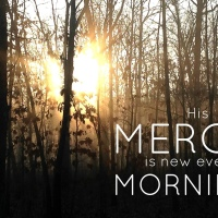 His mercy is new every morning